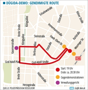 Dügida Route 18.9.2015